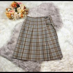 Vintage J.Crew Pleated Skirt
